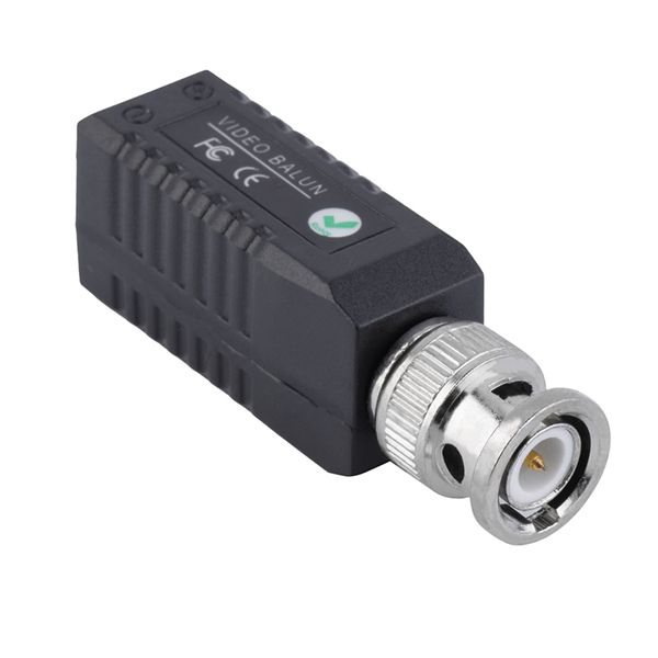2pcs BZX-206E Single Channel Passive Video Balun Twisted Pair Video Transmission