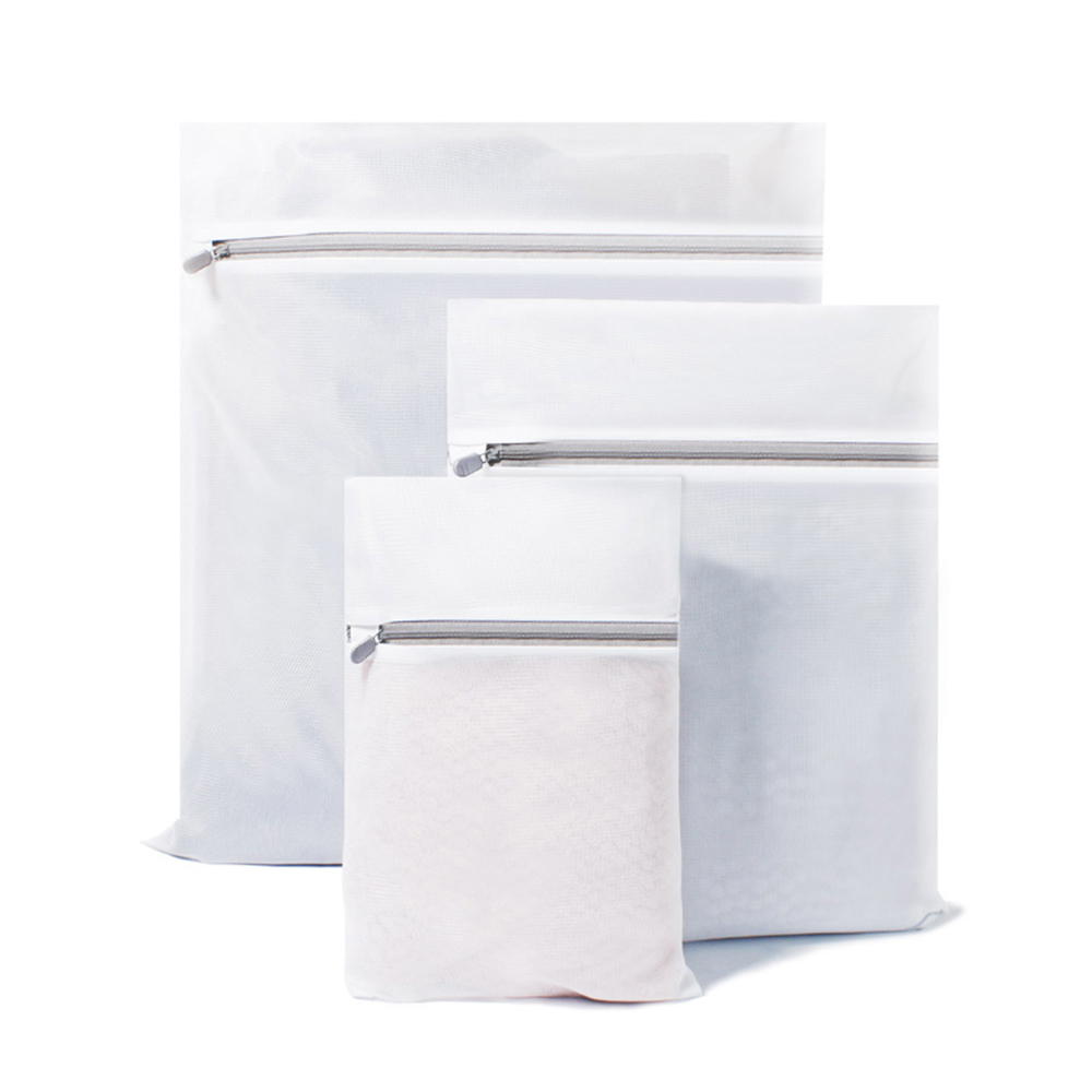 b7a847eb e77e 4107 aa9d 67d5089f62c7 - Qualitell 3PCS / Set Laundry Bag Prevent Entanglement Clothing Bag Reduce Wear Wash Clothes Washing Machine Protection Net Mesh Storage Bag from Xiaomi Youpin