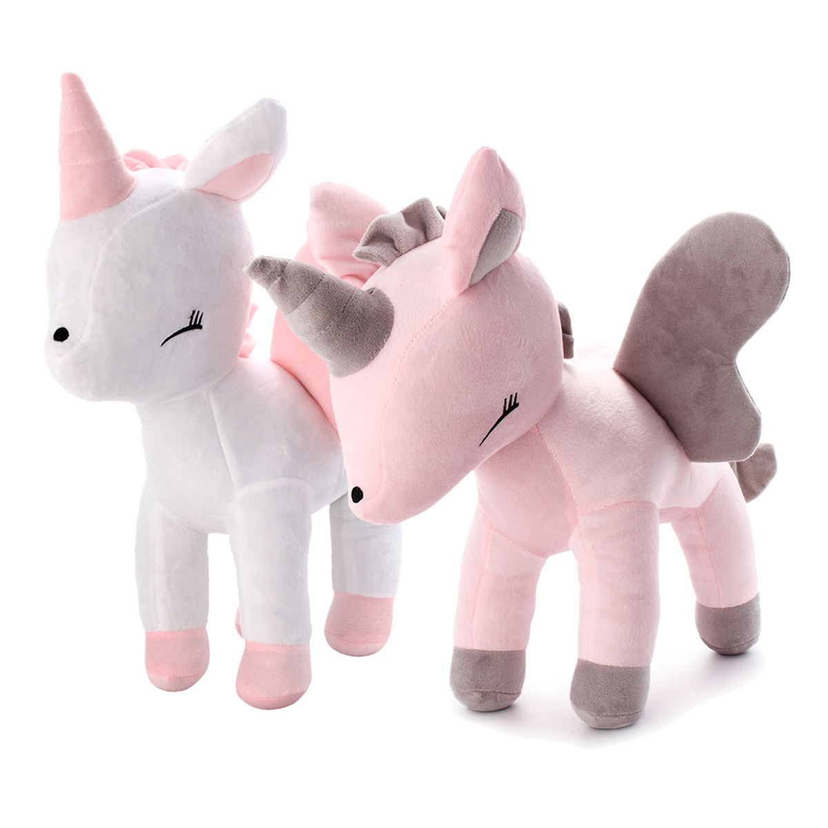 16 Inches Soft Giant Unicorn Stuffed Plush Toy Animal Doll Children Gifts Photo Props Gift