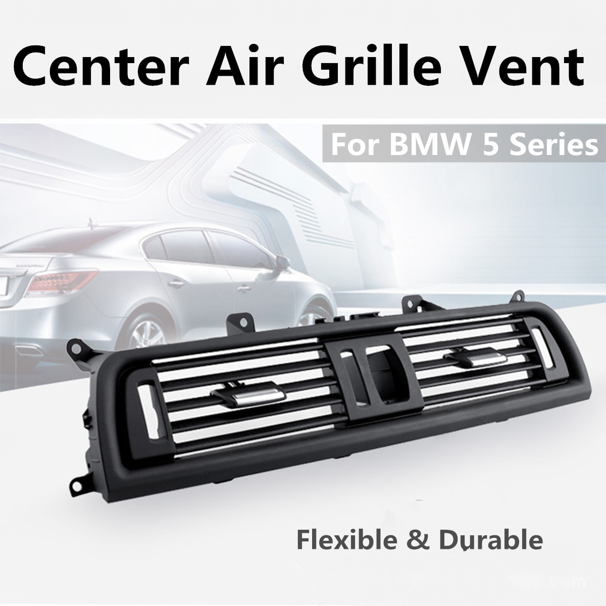 Console Center Grille Dash AC Air Heater Vent for BMW 5 Series 520 525 528 535
