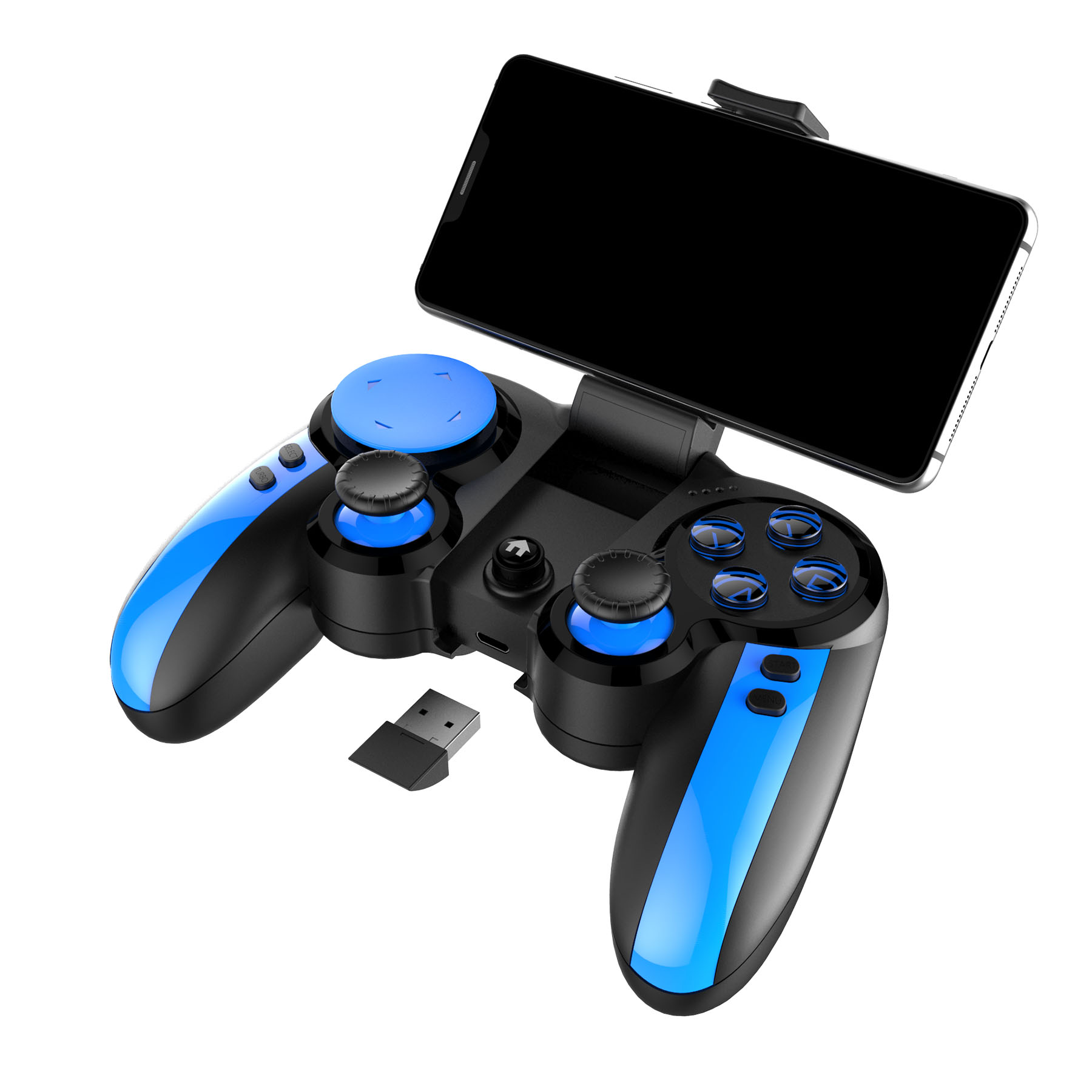 iPega PG-9090 Smurf bluetooth Gamepad Game Controller for for PUBG for IOS Andriod TV Box PC