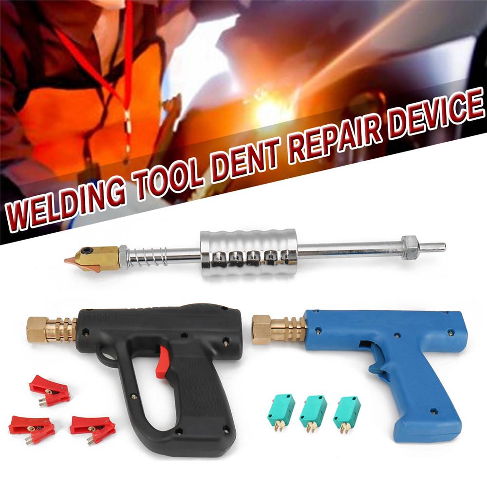 Spot Welding Slide Hammer Auto Body Stud Welder Dent Repair Kit Dent Puller