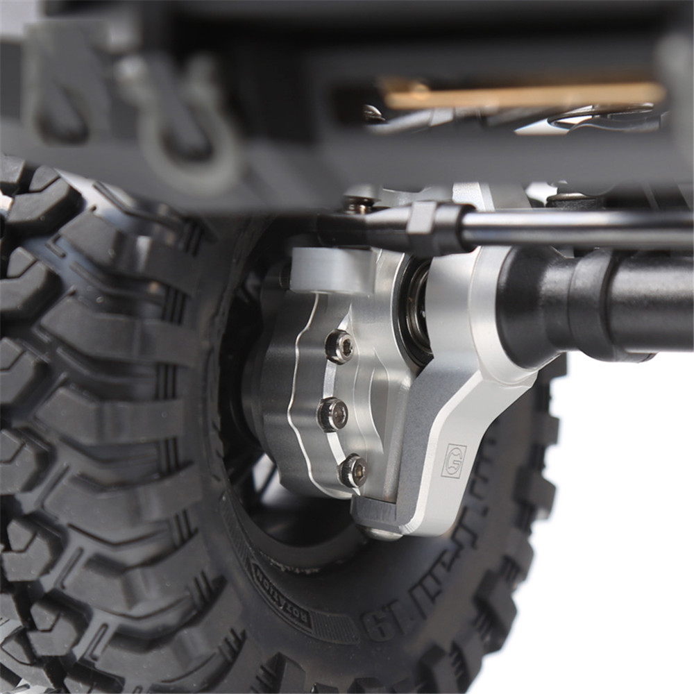 Craft Steering Gear Box Base & Tie Rod And Drag Link For 1/10 Traxxas Trx4 - Photo: 3