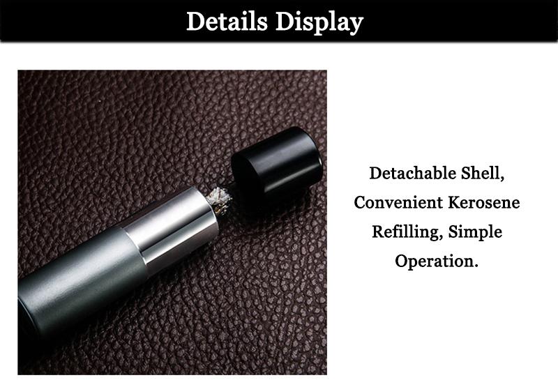 IPRee® Outdoor EDC Metal Windproof Kerosene Refillable BBQ Multifunctional Tools