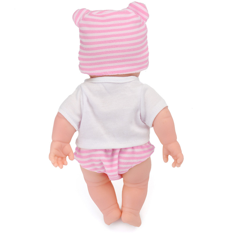 30CM Newborn Baby Doll Gift Toy Soft Vinyl Silicone Lifelike Newborn KidsToddler Girl