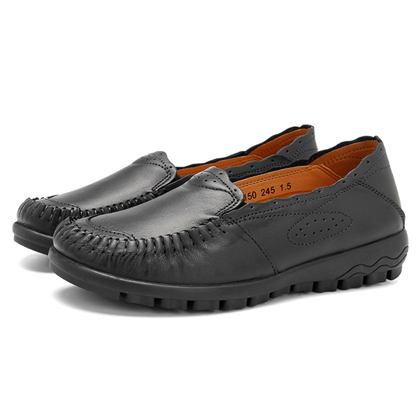 Genuine Leather Women Loafers
