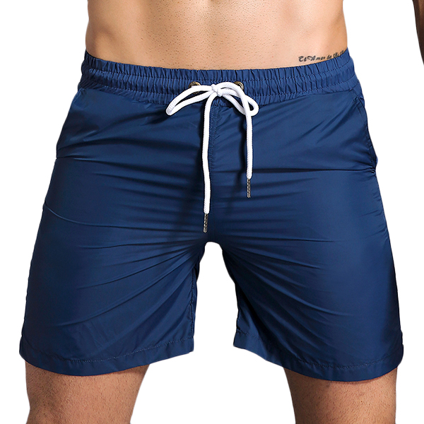 Men's Fitness Training Quick Drying Breathable Stripe Shorts