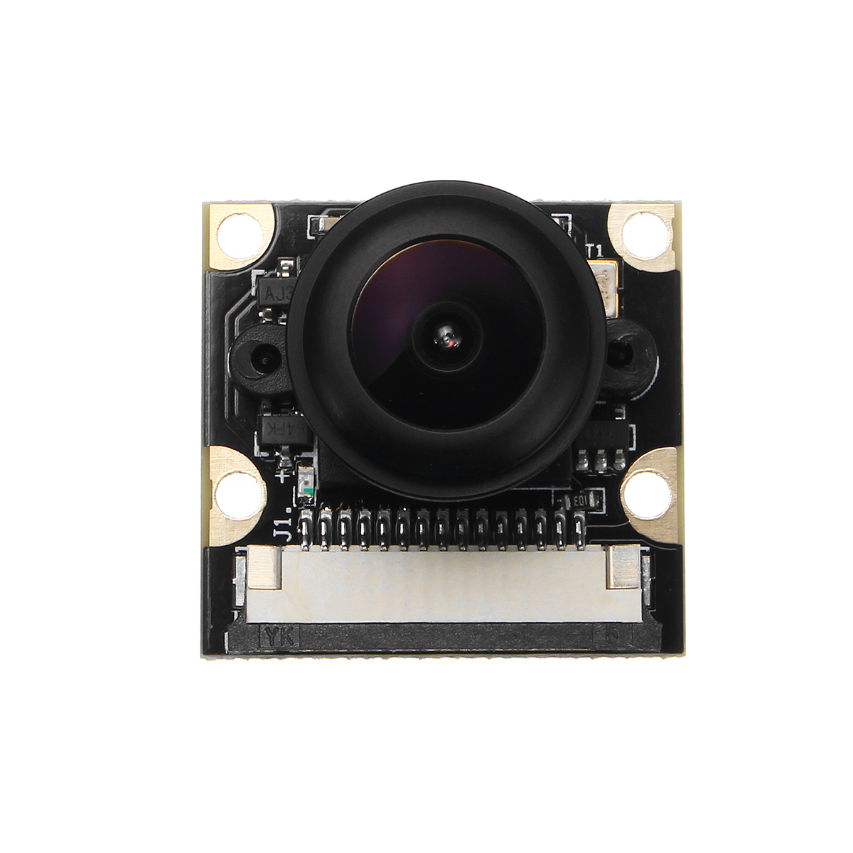 1080P 5MP 160° Fish Eye Surveillance Camera Module For Raspberry Pi With IR Night Vision