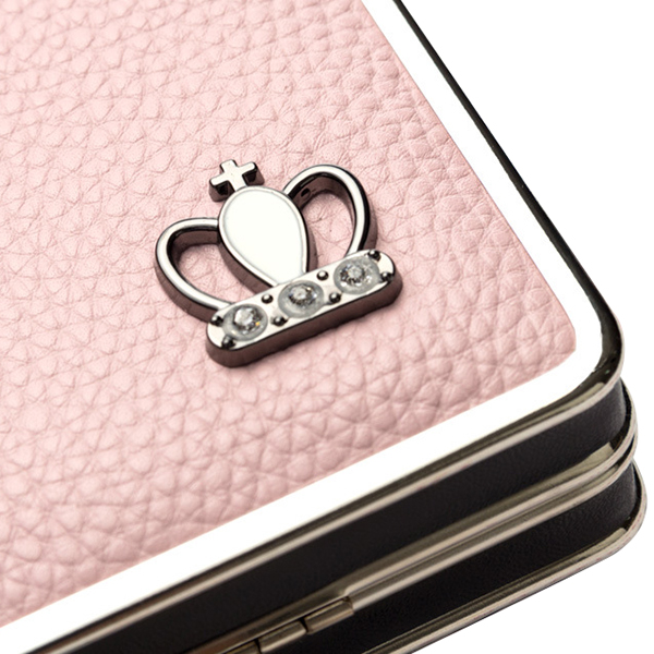 Women Crown Clutches Bags Hasp Long Wallets Card Holder Coin Purse 5.5'' Phone Bags For Iphone 7P