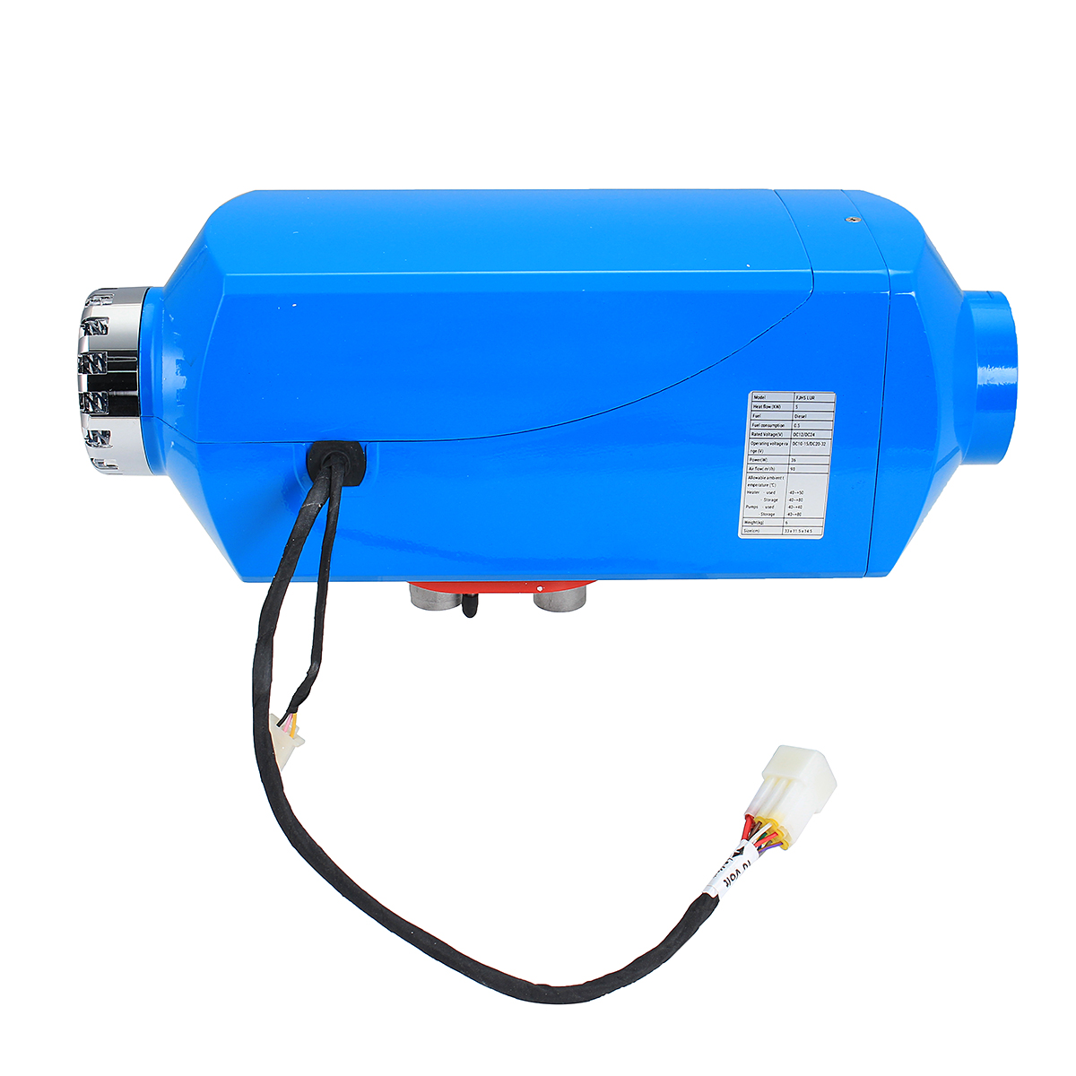 12V 5kw Diesel Air Parking Heater Air Heating LCD Control Switch with Silencer