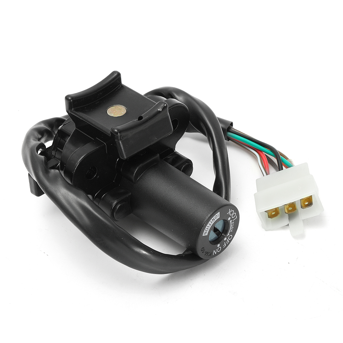 Ignition Switch with Gas Cap Cover Lock Key For Kawasaki ZX7R ZX9R ZXR750 ZX900