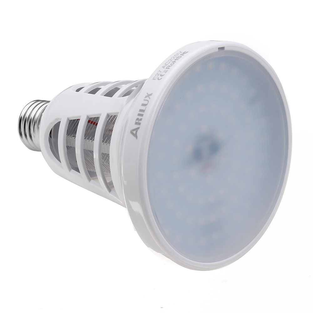ARILUX® 8W E27 LED Mosquito Killer Lamp Fly Bug Insect Repellent Bulb Plant Light for Indoor AC110V/220V