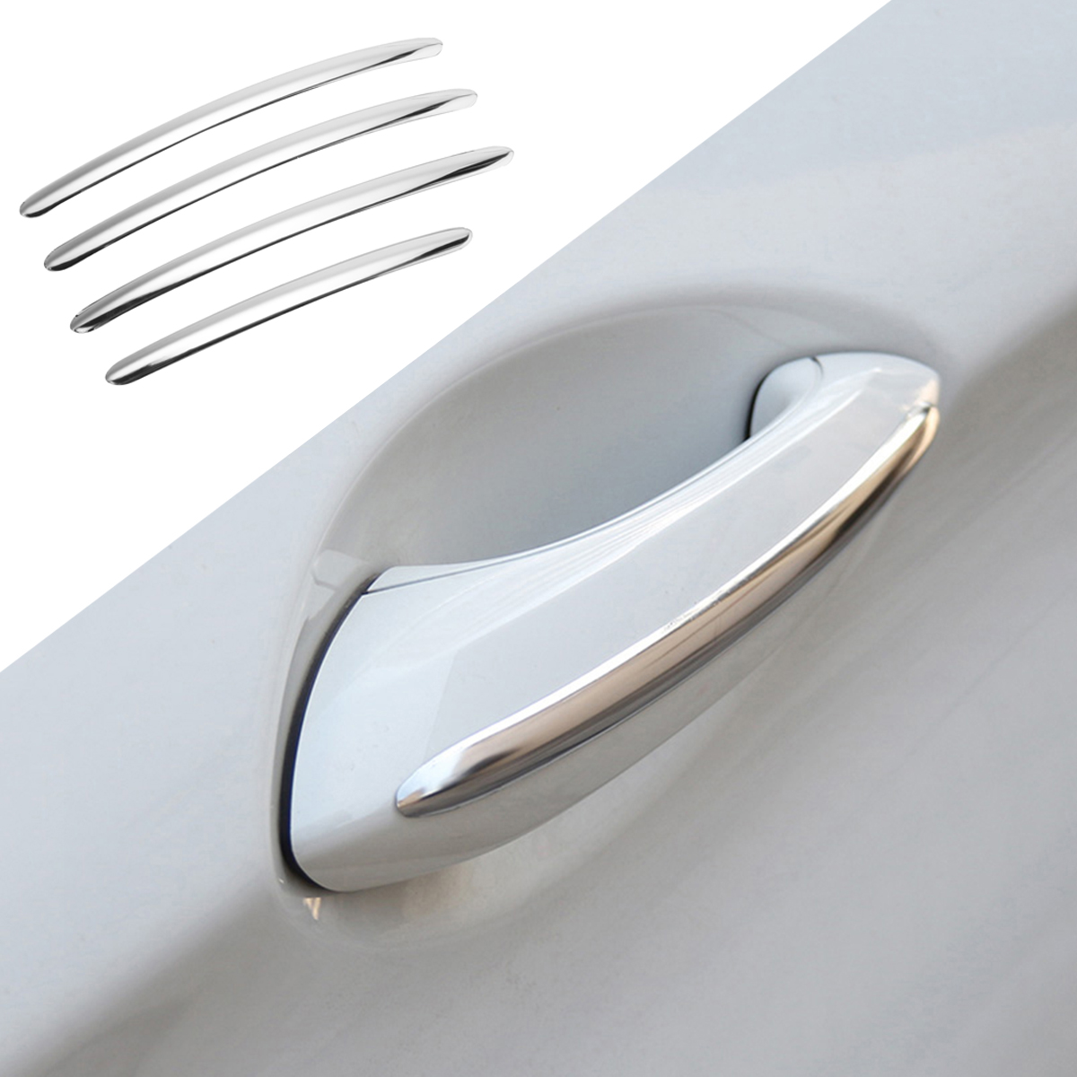 Car Side Door Handle Cover Stripe Trim for BMW 5 series F10 F18 F11 2011-2017
