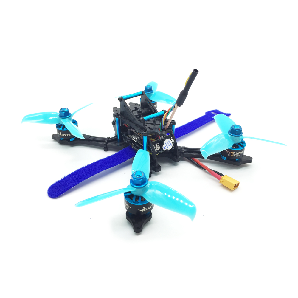 HGLRC XJB-145 145mm F4 OSD Micro FPV Racing Drone BNF w/ Compatible Flysky A8S V2 Receiver
