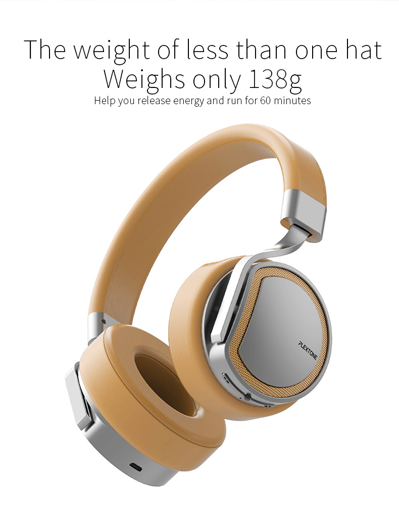 Plextone BT270 Wireless bluetooth Headphone 800mAh 8G RAM MP3 Heavy Bass Headset for iPhone Samsung