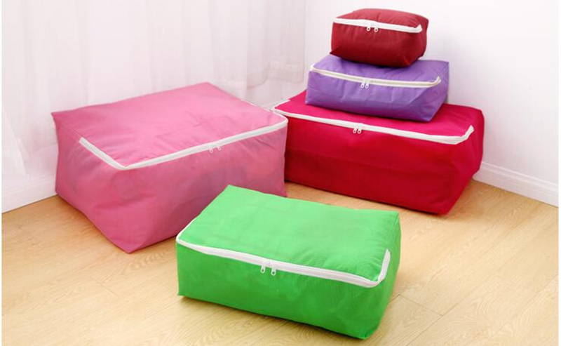 Honana Non-woven Fabric Storage Bags Quilt Folding Clothes Organizer XS-XXL Storage Bags