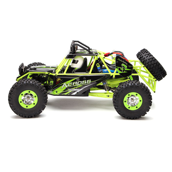 WLtoys 12427 2.4G 1/12 4WD Crawler RC Car With LED Light 7.4V 1500mAh