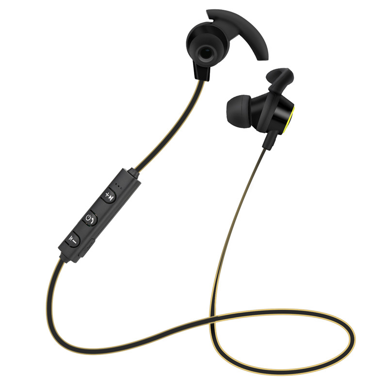 AX-02 Stereo Sport Wireless bluetooth 4.1 In Ear Earphone Hands-free Earbuds WIth Mic Volume Control