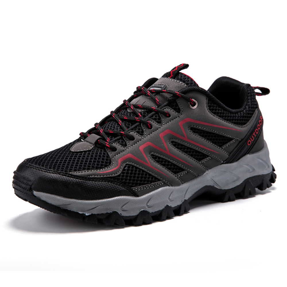 Breathable Mesh Wear Resistant Non-Slip Outdoor Sneakers