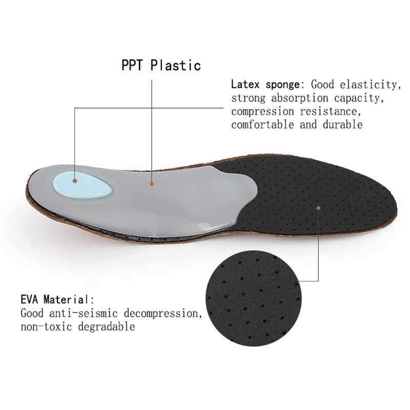 1 Pair Flat Feet Corrector Pad Arch Orthotic Insoles Sport
