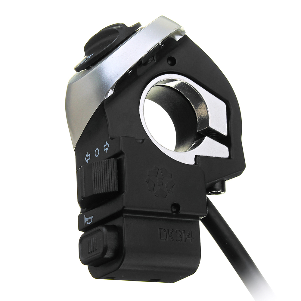 3in1 Wuxing Motorcycle Electric Scooter Handle Switch With HeadLight Taillight Horn Botton