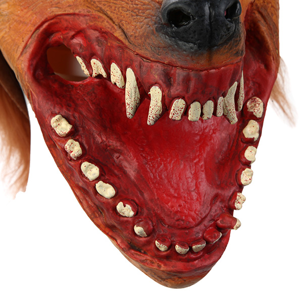 Creepy Wolf Mask For Halloween Horror Devil Dances