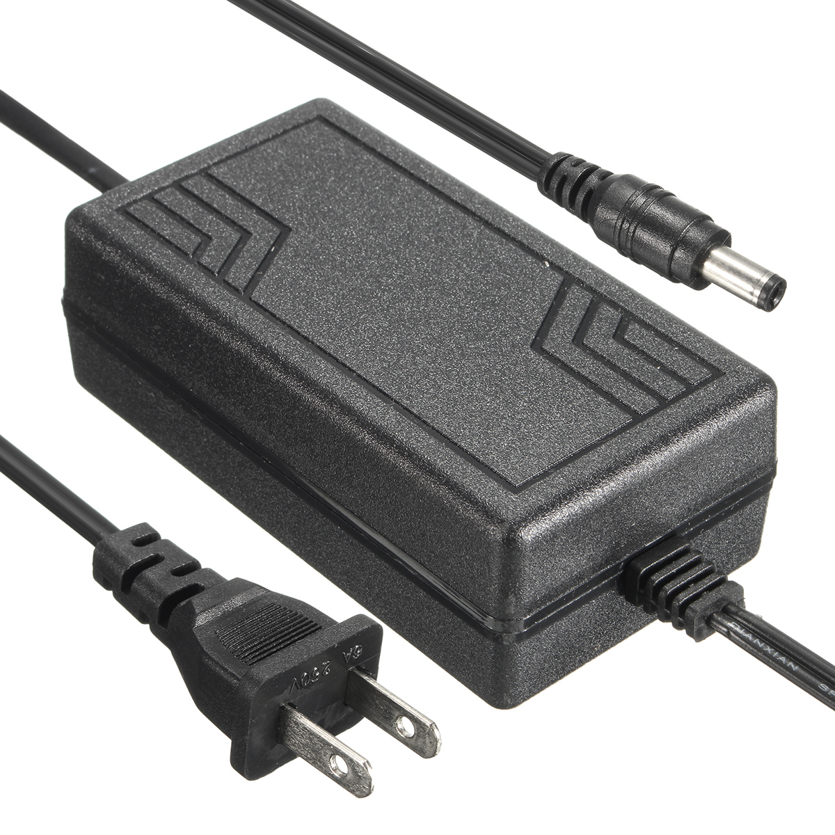 24V 2A AC to DC Switching Adapter Power Supply for LED Strip Light CCTV 5.5mm x 2.5mm