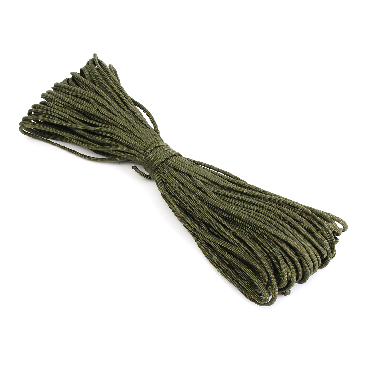 100FT/30M 550lb Paracord Parachute Lanyard 7 Strand Core Emergency Army Green Rope