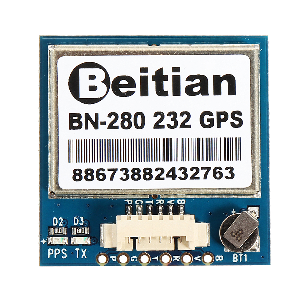 Beitian BN-280 RS232 GPS Module GPS+GLONASS Dual Mode With Antenna