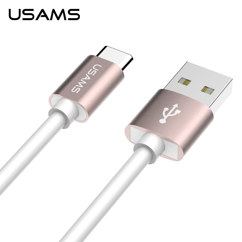 USAMS 1M Type C USB 3.1 Data Charger Cable For Tablet Cellphone