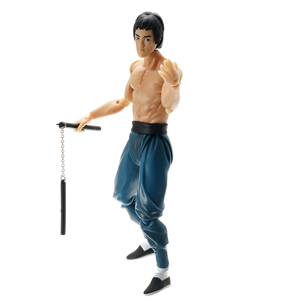 Figma Bruce Lee Doll Man Figure Model Cartoon Flexible Action Figure Chinese Kongfu
