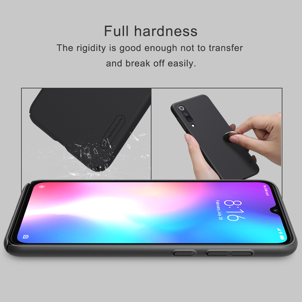 NILLKIN Frosted Shield PC Hard Back Protective Case For Xiaomi Mi9 Mi 9 SE