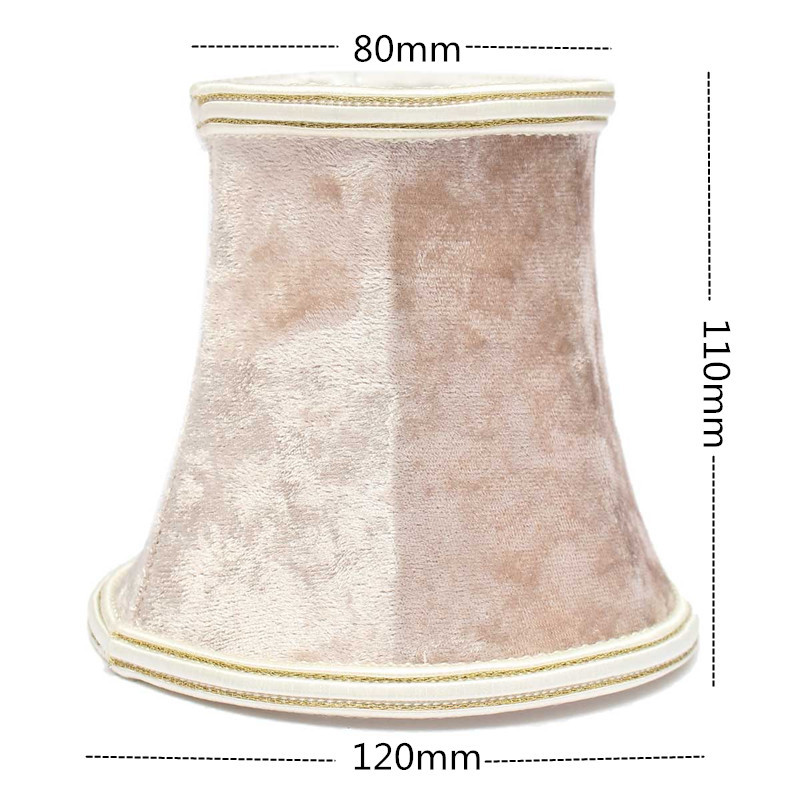 Lint Lampshade Pendant Wall Lamp Light Hanging Vintage European Style Home Bedroom Decor