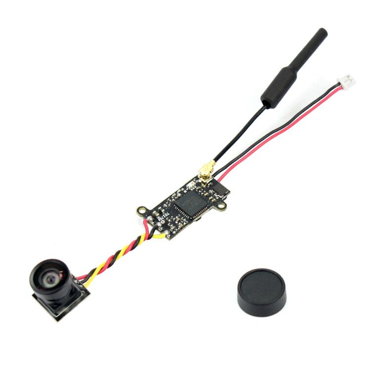 1/4.5 Inch CMOS 700TVL 120 Degree 5.8G 40CH 25mW FPV Camera VTX 3.3g Only For Mini RC Drone
