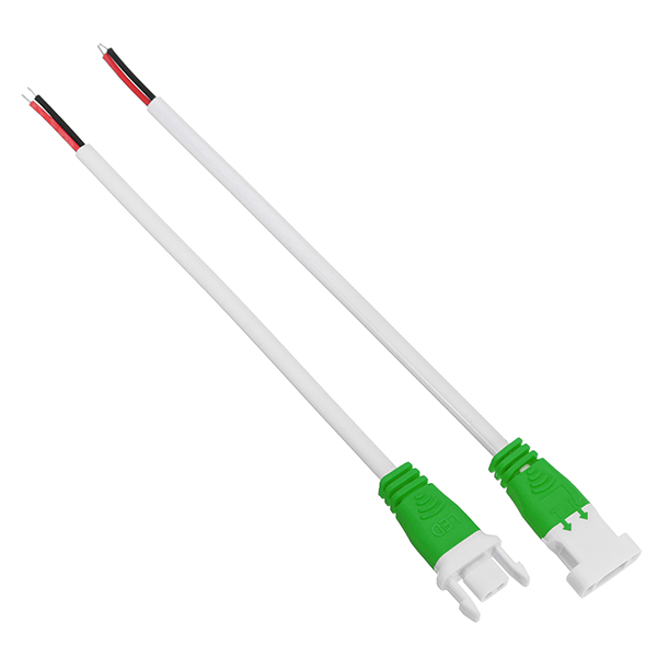 2 Pin Orange Green Grey Connector Wire Cable for Male Female LED Strip Light