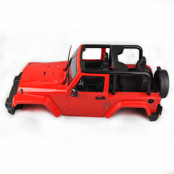 1/10 RC Truck Hard Body Shell Canopy Rubicon Topless For Crawler D90 AXIAL SCX10 Truck