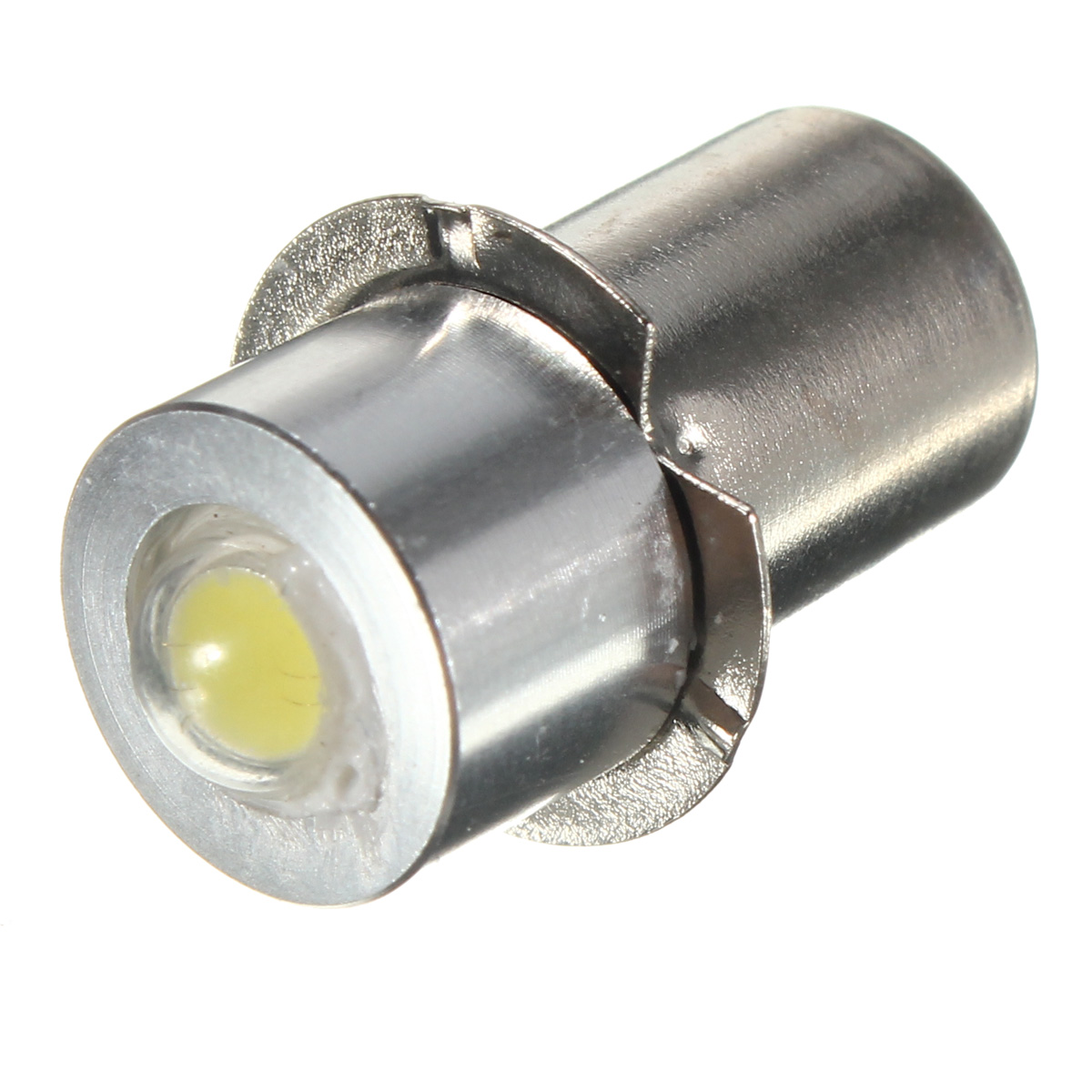 P13.5S PR2 1W LED Flashlight Bulb Torch Work Light Lamp 6000K White 100LM DC3V