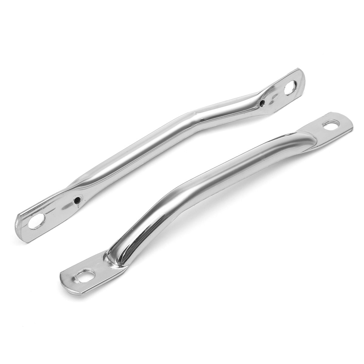Cafe Race Retro Rear Side Seat Handrail Univesal For Hole Distance 20.5-22mm