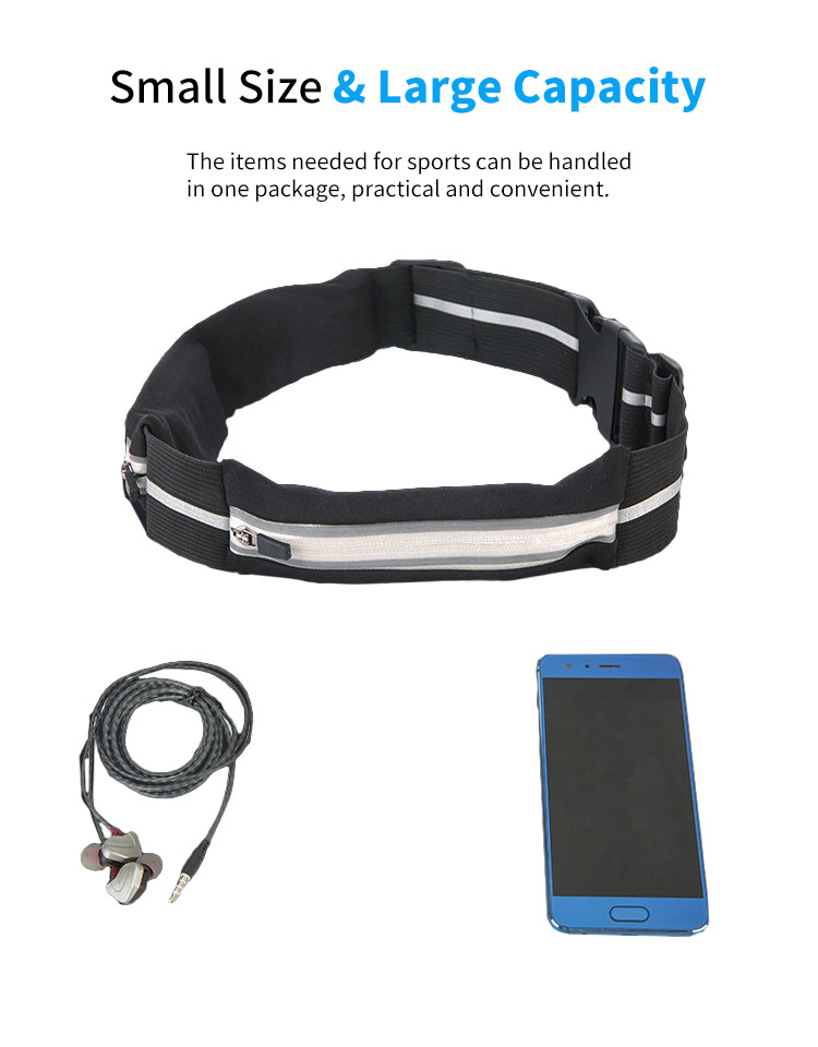 Expandable Pocket GO BELT Outdoor Sports Mobile Pocket Portable Belt Mobile Phone Pocket