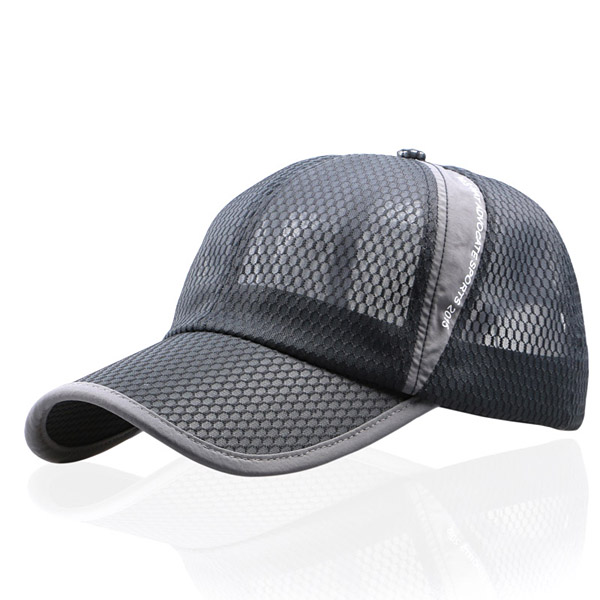 Unisex Men Women Mesh Breathable Summer Hat Sport Adjustable Buckle Baseball  Cap COD 3c34e0146