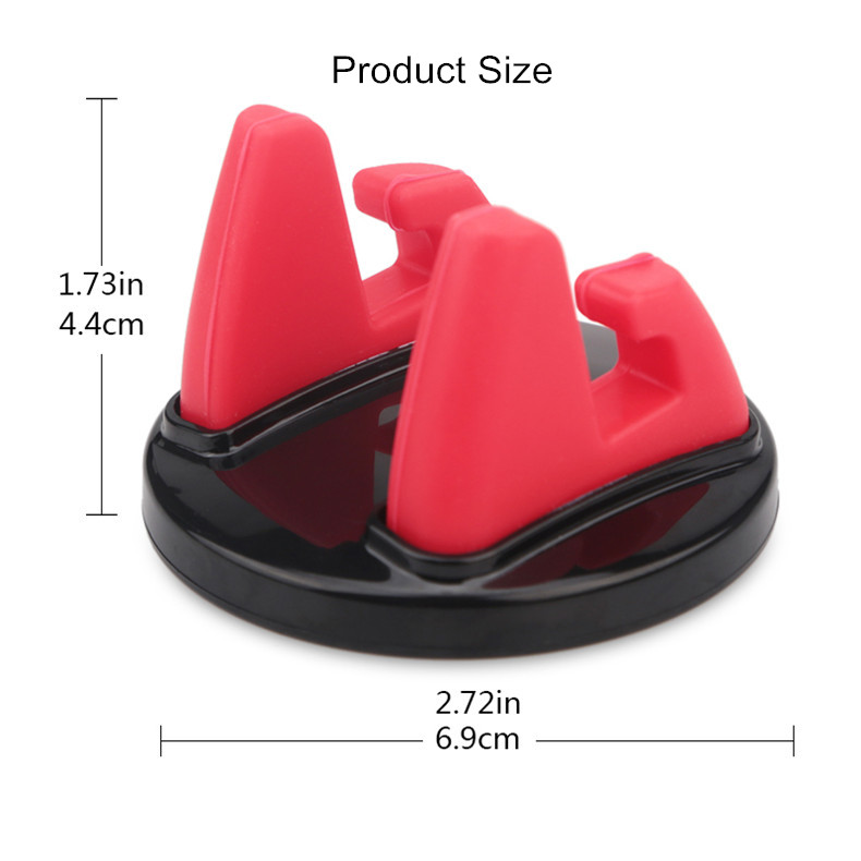 Bakeey Strong Sticky 360 Degree Rotation Desktop Holder Stand Car Mount for Xiaomi Mobile Phone