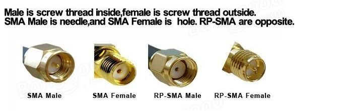IPEX to SMA/RP-SMA Female Adapter Extend Cable Connetor 10cm