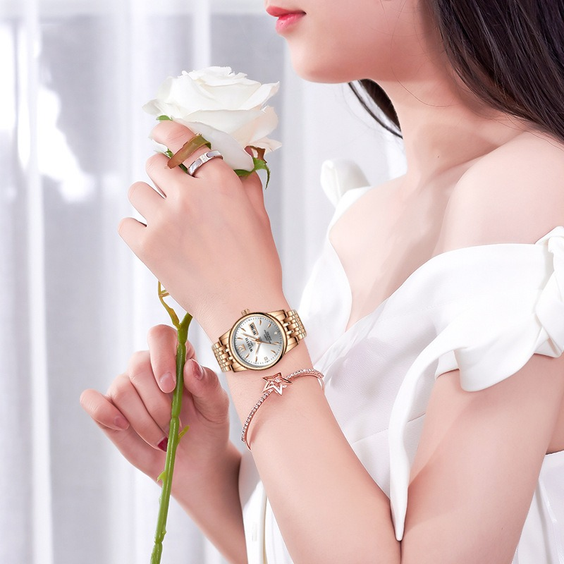Fashion Business Ladies Dress Women Quartz Watch