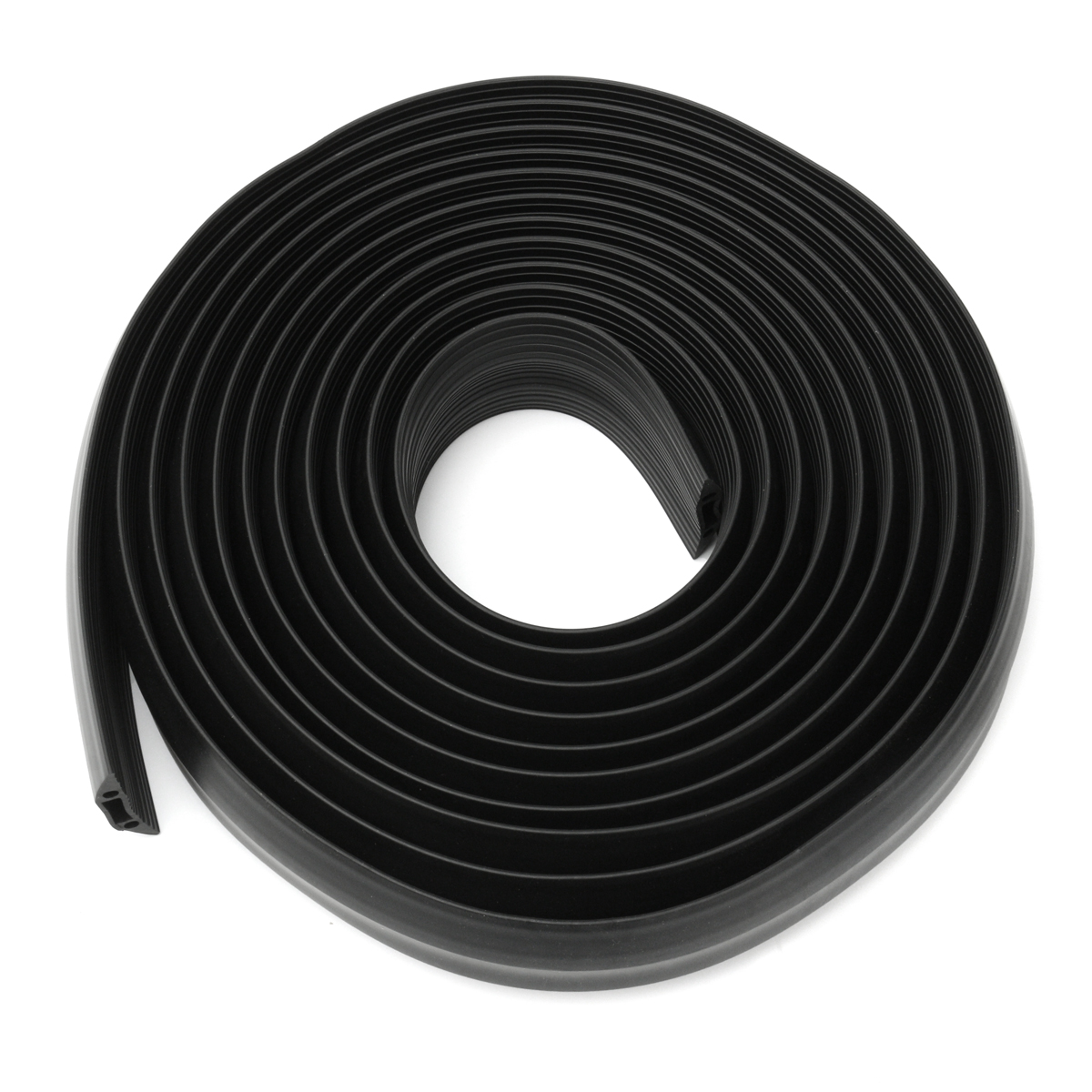 Heavy Duty Rubber Cable Protector Bumper Tidy Floor Trunking Cover Sleeves 1M/2M/3M/4M/5M/10M