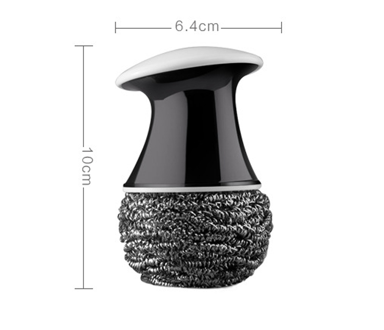 Honana KC-847 Mushroom Shape Kitchen Wash Tool For Tablewares Kitchen Cleaning Brush Home Kitchen Cleaning Tool