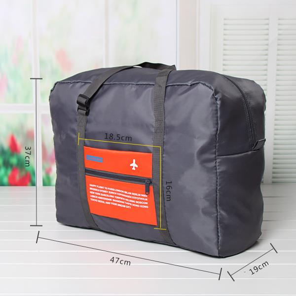 Men Women Oxford Cloth Waterproof Outdoor Travel Folding Duffel Bag Handbag