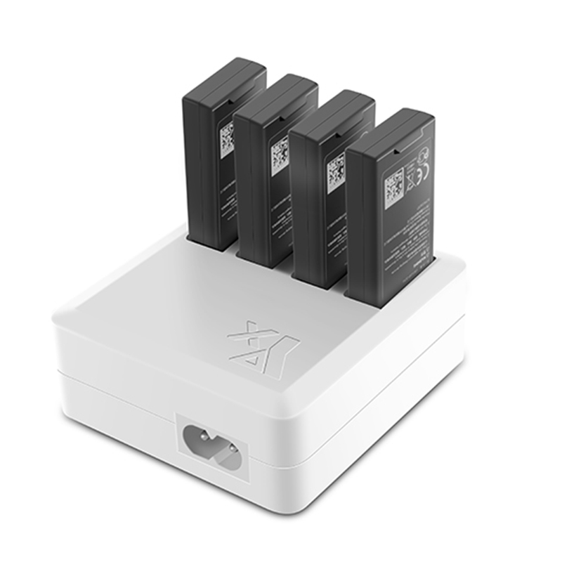 4-in-1 Multi Batteries Charger Quick Charging Hub 4 In 1 Battery Charger for DJI Ryze Tello Drone - Photo: 2