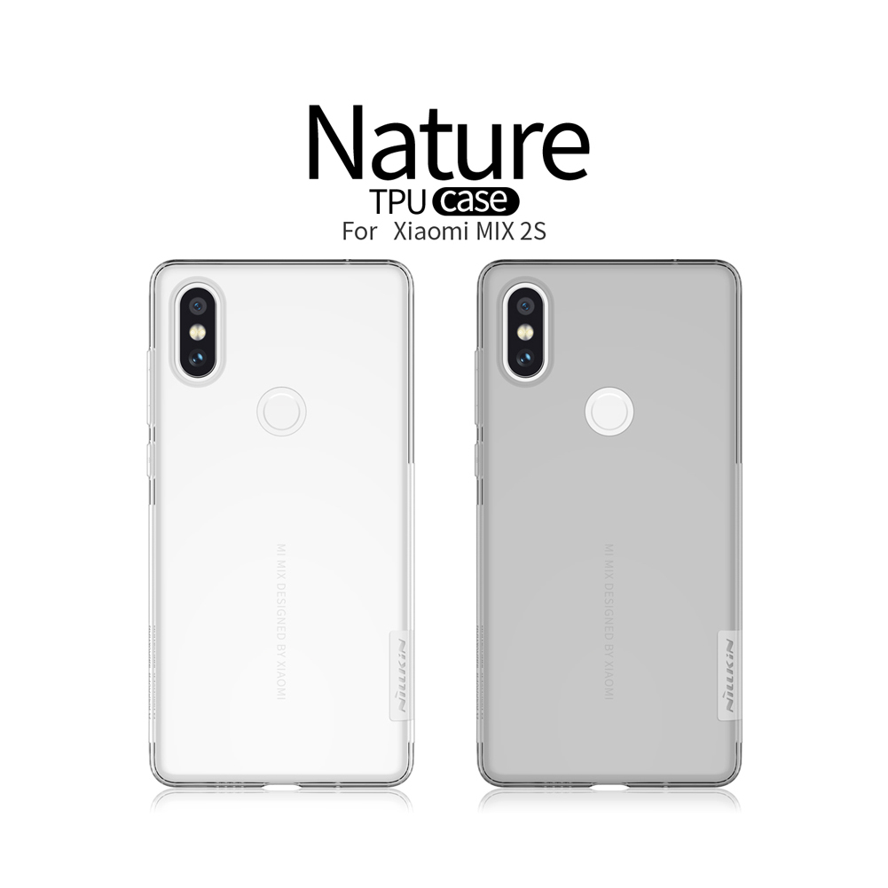 NILLKIN Clear Nature Transparent Soft TPU Protective Case For Xiaomi MIX 2S