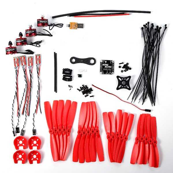 Kingkong Force 250 Power Combo 2205-2300KV Motor 20A 2-4S ESC 5045/6045 2-Blade Propeller