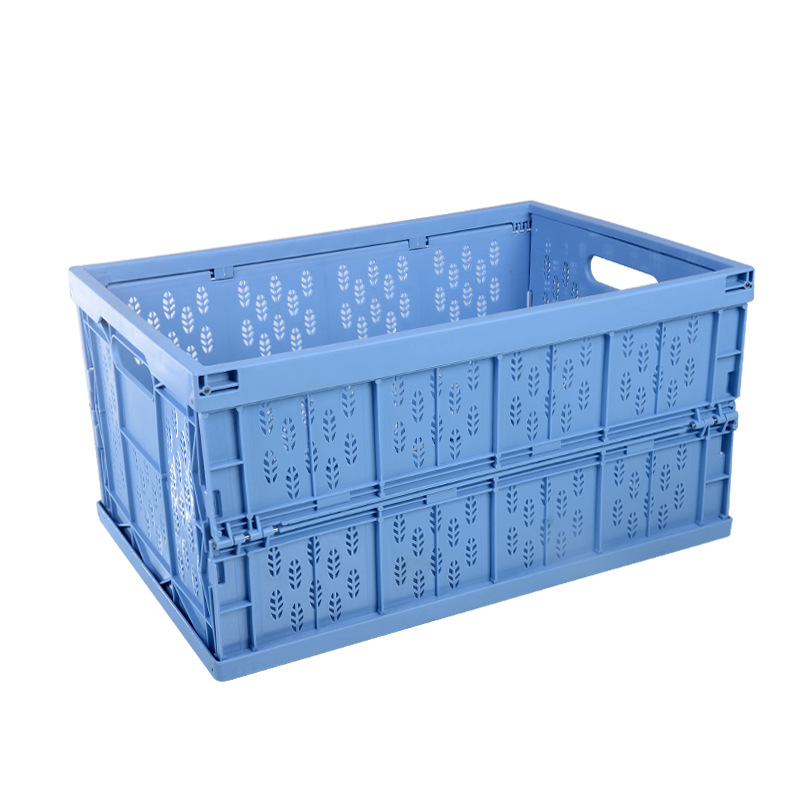 Household Car Foldable Heavy Duty Durable Plastic Storage Box Organizer Basket Water Bucket